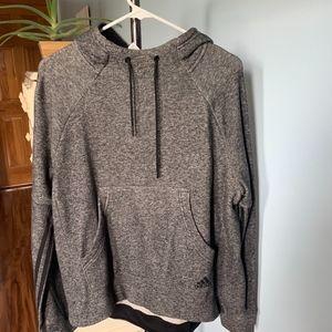 Adidas Grey Hoodie - Size L (NWOT)